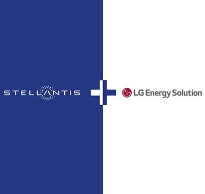 Stellantis and LG Energy Solution logo